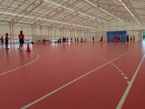 第2体育館が完成しました