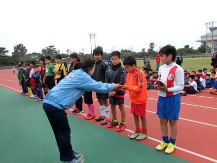 【地域貢献】第7回本部町×八洲学園U-11サッカー大会開催